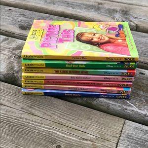 8 Lizzie McGuire Books